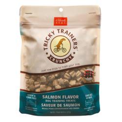 Cloudstar Dog Tricky Trainder Crunch Salmon 8 ounces