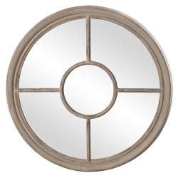 Desmond Distressed Taupe Mirror
