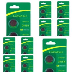 INSTEN Lithium Battery CR1616 (Pack of 10)