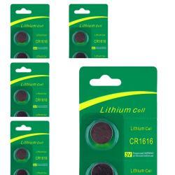 INSTEN Lithium Battery CR1616 (Pack of 5)
