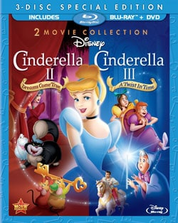 Cinderella II: Dreams Come True & Cinderella III: A Twist In Time (Blu-ray Disc) 9183137