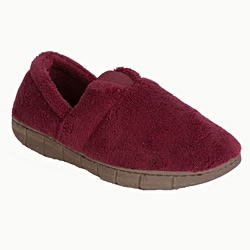 Muk Luks Women's 'Petal Spiral' Burgundy Fleece Espadrille Slippers