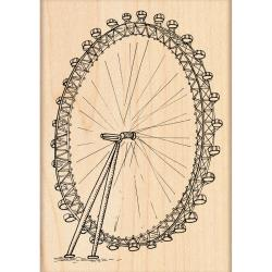 "Penny Black Rubber Stamp 3""X4.25""-The London Eye"