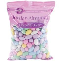 Jordan Almonds 44 Ounces/Pkg-Pastel Mix