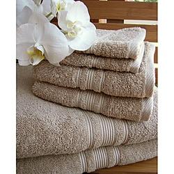 Charisma Linen Beige Premium Hygro Cotton 18-piece Towel Set