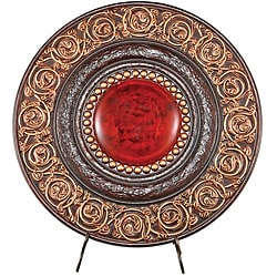 Brown/ Red 21-inch High Plaque