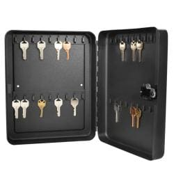 Barska 36-position Black Steel Key Cabinet Safe with Combination Lock