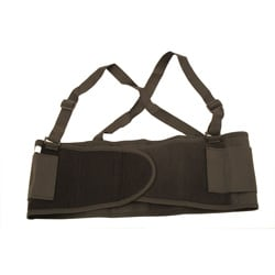 XX-Large Black Back Support Belt