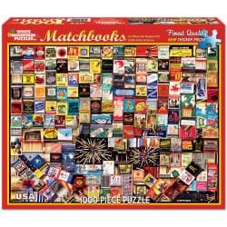 Matchbooks 1000-piece Jigsaw Puzzle