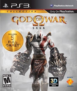 Sony PlayStation 99069 PS3 God of War Saga 9203580