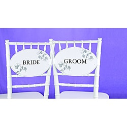 Wedding Party Chair Decorations