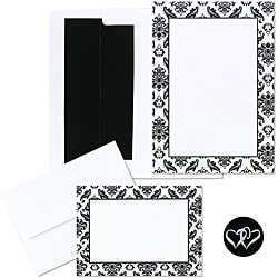 HBH Damask Border Invitation Kit