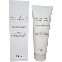 Christian Dior 4.2-ounce Gentle Foaming Cleanser for Dry/ Sensitive Skin