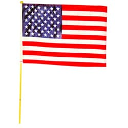 Premium American Stick Flag (Case of 250)