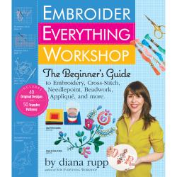 Workman Publishing-Embroider Everything Workshop
