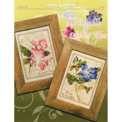 Stoney Creek-Blue Periwinkle & Sweet Pea