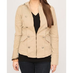 Jou Jou Juniors Camel Military Jacket