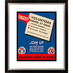 Urgent - Volunteers Needed at Once! Framed Limited Edition Giclee