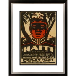 William Du Bois 'Haiti A Drama of the Black Napoleon' Framed Limited Edition Giclee Art