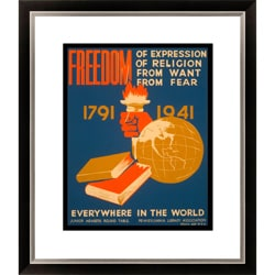 'Freedom of Expression' Framed Limited Edition Giclee