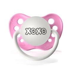 Personalized Pacifiers XoXo Pacifier in Hot Pink