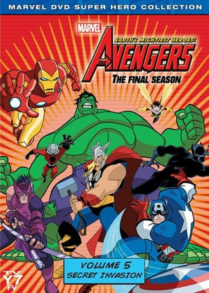 Avengers: Earth's Mightiest Heroes! Vol. 5: Secret Invasion (DVD) 9227771