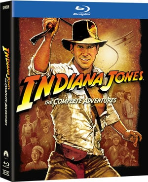 Indiana Jones The Complete Adventure Collection (Blu-ray Disc) 9236172