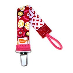 Personalized Pacifier Clip in Butterfly Kisses