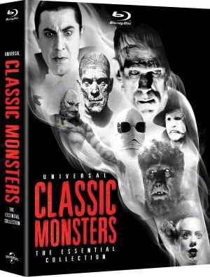 Universal Classic Monsters: The Essential Collection (Blu-ray Disc) 9243738