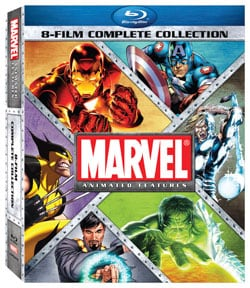 Marvel Animated Features 8-Film Complete Collection (Blu-ray Disc) 9243741