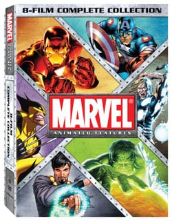 Marvel Animated Complete Collection (DVD) 9244299
