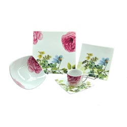 Summer Flowers Dinnerware Set (20 Pieces) 9252655