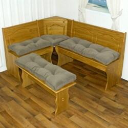 Nook Sage Green Ribbed Microfiber 4-piece Cushion Set