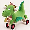 Wonderworld Toys Detachable Puffy Dragon Plush Ride-on with Sounds