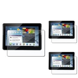 INSTEN Clear Screen Protector for Samsung Galaxy Tab 2 (Pack of 3)