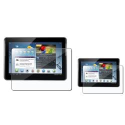 INSTEN Clear Screen Protector for Samsung Galaxy Tab 2 (Pack of 2)