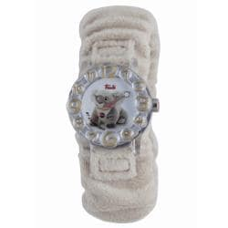 Trudi Kids' Beige Fur Watch