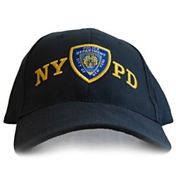 NYPD Men's Shield Cap