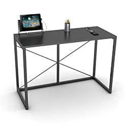 Atlantic Black Tech Desk