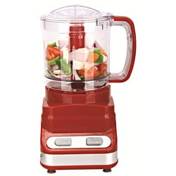 Brentwood Three Cup Red Food Processor 9263342