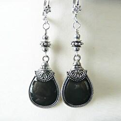'Ayesha' Epoxy Earrings