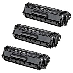 Canon Replacement 104 Compatible Black Toner Cartridges (Pack of 3)