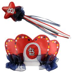 St. Louis Cardinals Princess Tiara Wand Set
