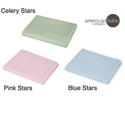 American Baby Company Cotton Percale Crib Sheet