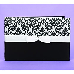 Black Enchanted Guest Book