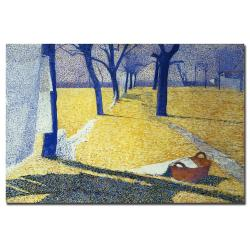 Giuseppe Pellizza da Volpedo, 'Washing in the Sun' Canvas Art Print