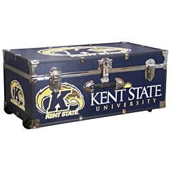 Kent State University 30-inch Wheeled Foot Locker Trunk