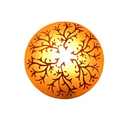 Decorative Orange Transitional Nancy Wall Lamp