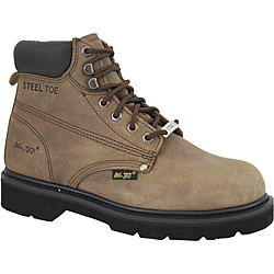 AdTec Men's 1981 6-inch Steel Toe Nubuck Hiker Boots