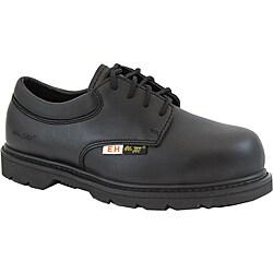 AdTec 1586L 4-inch Composite Toe Electrical Hazard Uniform Black Oxford Work Boots